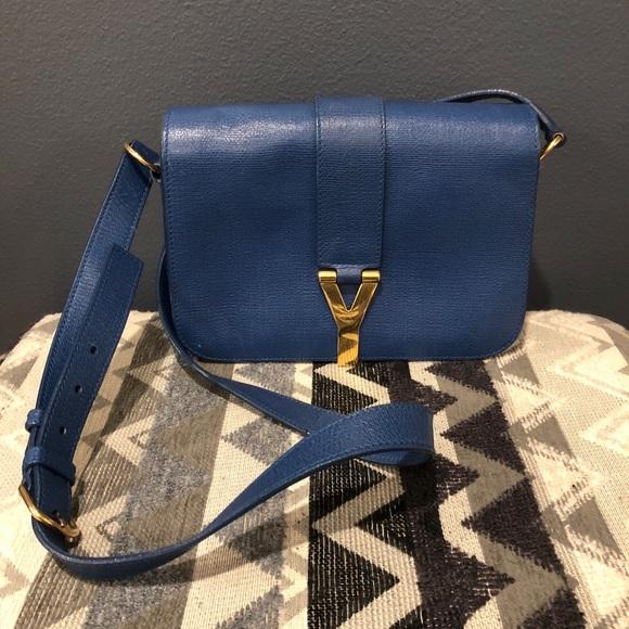 98601cc71d51 Yves Saint Laurent ChYc Flap Crossbody Bag. M 5b0e7fa9739d4836fec385ef